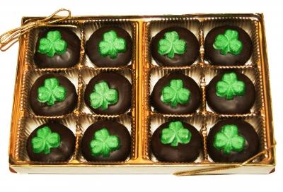 shamrock chocolate mints
