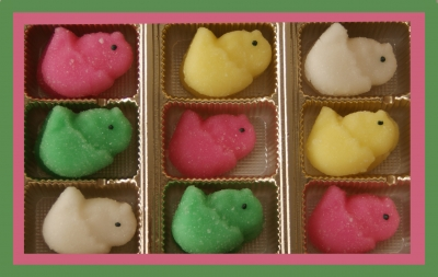 Easter Candy: Cream Chicks