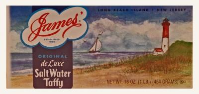 Salt Water Taffy from Stutz Candy Shop - Bucks County PA