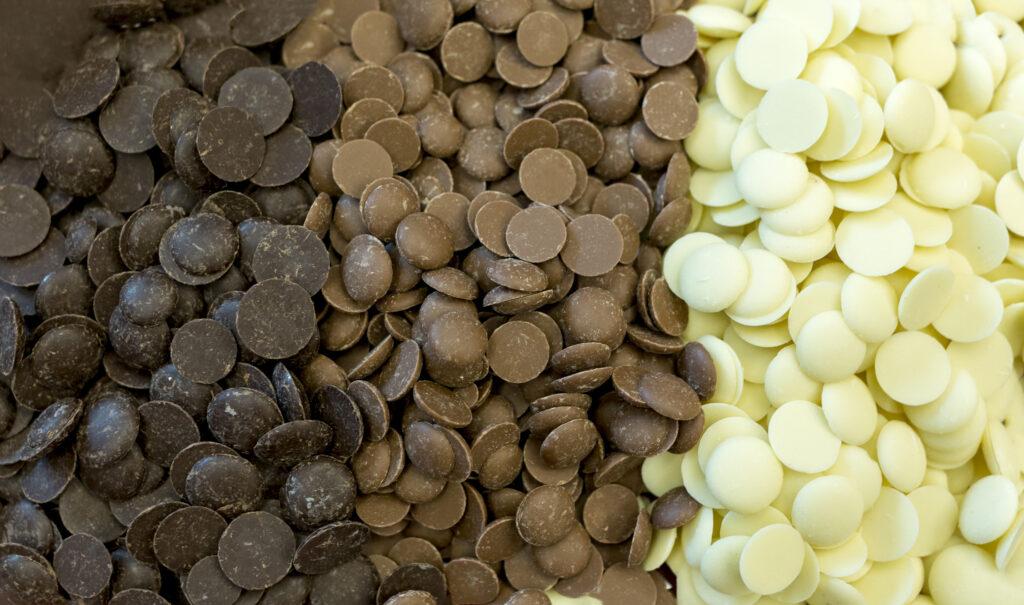 Dark, White & Milk Chocolate in Bucks County