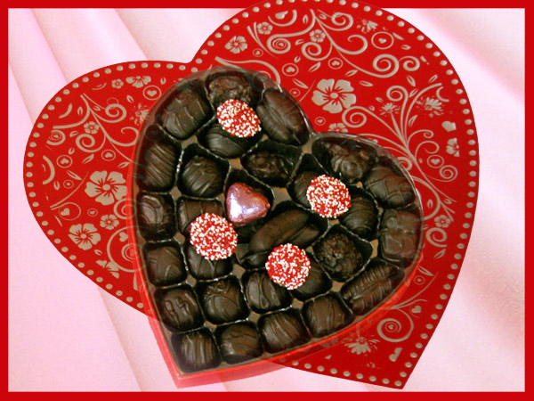 Valentines Day Chocolate in Bucks County