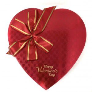 Heart box chocolate