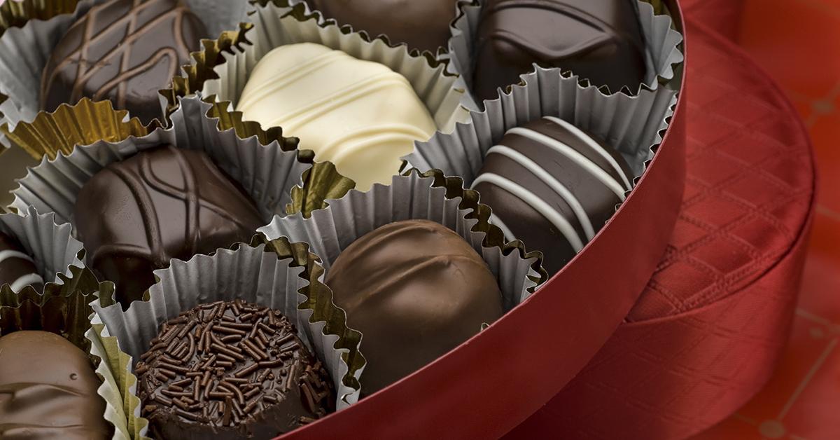 Valentines Chocolate Stutz