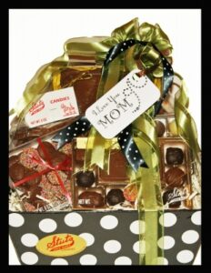 large mother's day candy gift basket