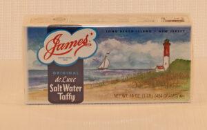 box of saltwater taffy