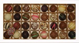 boxed assortment of chocolates